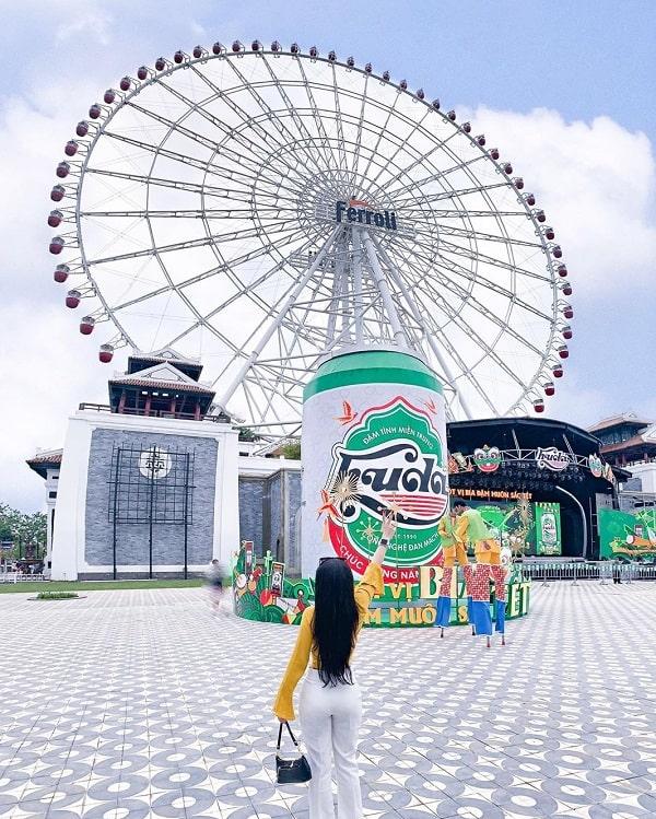 Bí kíp du lịch Đà Nẵng. Du lịch Đà Nẵng nên đi đâu, chơi gì? Công viên Asia Park ở Đà Nẵng