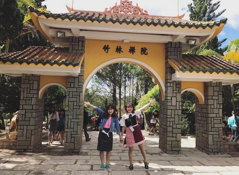 Địa điểm du lịch ở Đà Lạt, thiền viện Trúc Lâm