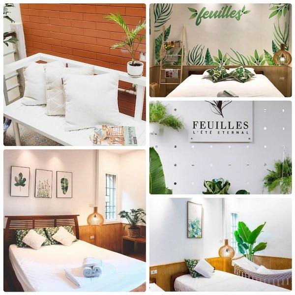 Thuê airbnb ở quận Hoàn Kiếm Hà Nội, Feuilles Homestay