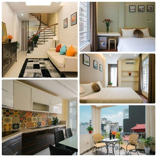 Airbnb ở quận Hoàn Kiếm, Hà Nội. Airbnb của Hanoi Senses Home