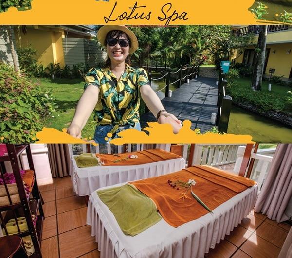 Các tiện ích thư giãn giải trí ở Eden Resort Phú Quốc. Có nên ở Eden Resort Phú Quốc hay không? dịch vụ spa, massage