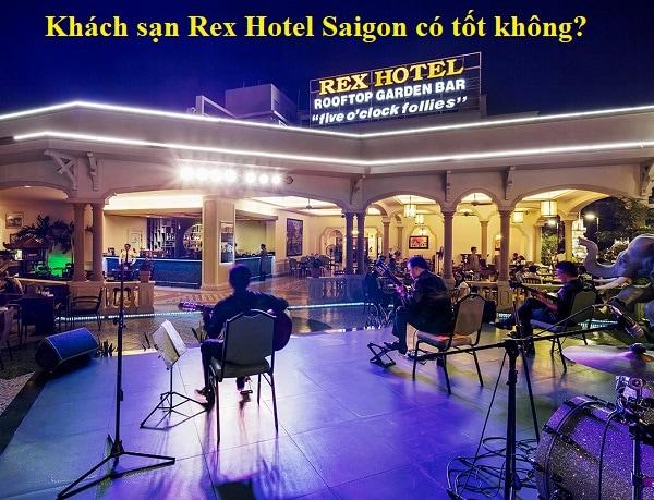 Đánh giá khách sạn Rex Hotel Saigon chi tiết. Roof top bar ở Rex Hotel Sài Gòn