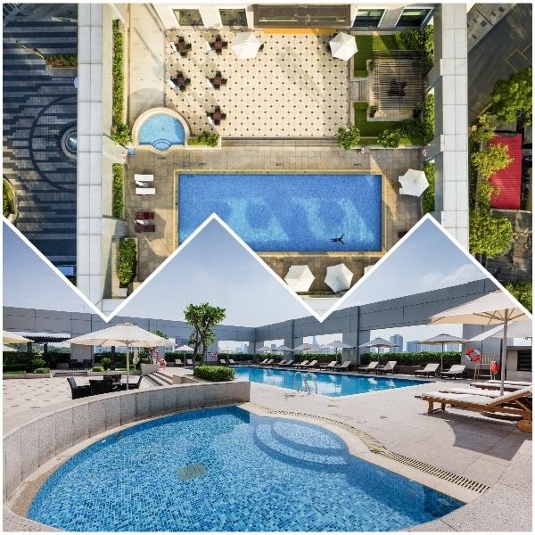 Khách sạn Nikko Hotel Saigon có tốt không, có tiện ích gì nổi bật? Hồ bơi ngoài trời ở khách sạn Nikko Hotel Sài Gòn