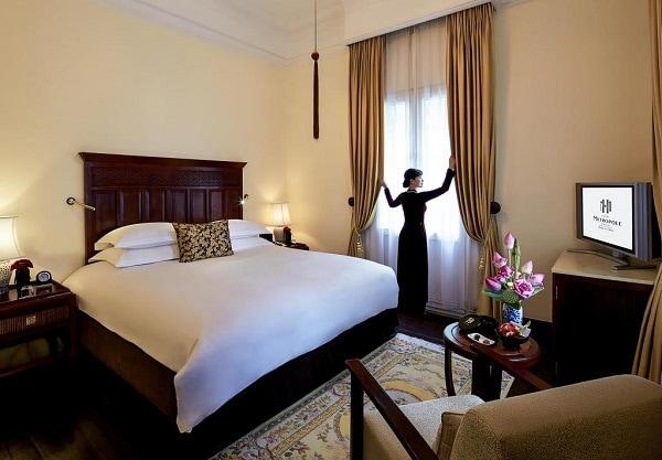 Phòng Luxury – Historical Wing của khách sạn Sofitel Legend Metropole Hà Nội