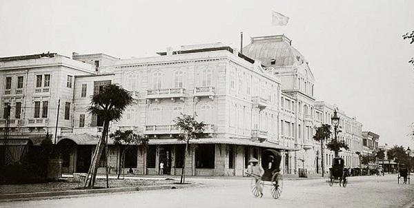 Hình ảnh khách sạn Sofitel Legend Metropole Hà Nội năm 1972