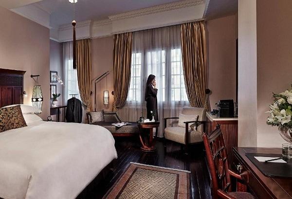 Phòng Grand Luxury – Historical Wing của khách sạn Sofitel Legend Metropole Hà Nội
