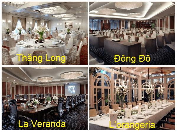 Các phòng hội thảo ở khách sạn Sofitel Legend Metropole Hà Nội