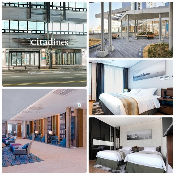 Kinh nghiệm du lịch đảo Busan, khách sạn cao cấp ở Busan, Citadines Haeundae Busan