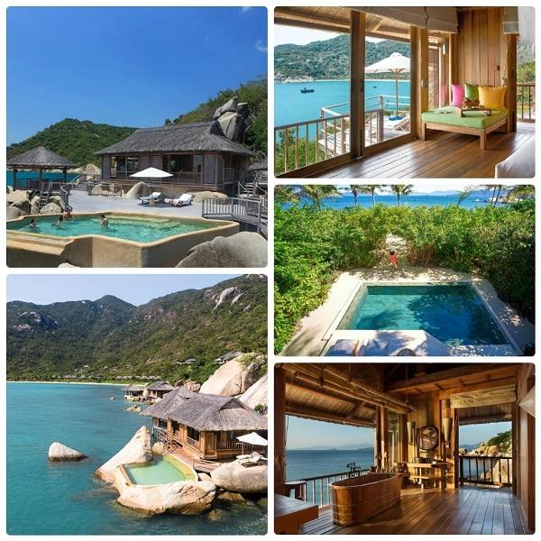 Resort cao cấp ở Nha Trang, toàn cảnh Six Senses Ninh Van Bay