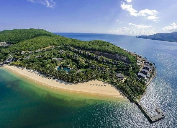 Resort cao cấp ở Nha Trang, MerPerle Hòn Tằm Resort