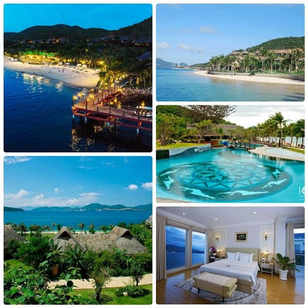 Không gian của MerPerle Hòn Tằm Resort, resort ở Nha Trang đẹp, sang chảnh