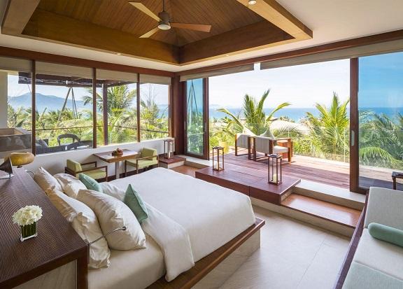 Resort đẹp ở Nha Trang, phòng ngủ của Fusion Resort Cam Ranh