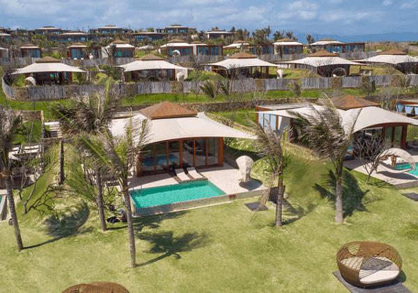 Khu biệt thự của Fusion Resort Cam Ranh, một resort ở Nha Trang đẹp và nổi tiếng nhất