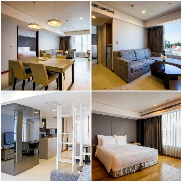 Review khách sạn Nikko Hotel Saigon. Căn hộ 1 - 2 - 3 phòng ngủ ở khách sạn Nikko Hotel Sài Gòn