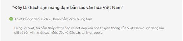 Review khách sạn Sofitel Legend Metropole Hà Nội của du khách đến từ Việt Nam