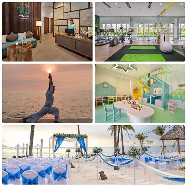 Review khu nghỉ dưỡng Sol Beach House Phú Quốc: Các dịch vụ giải trí ở Sol Beach House Phú Quốc