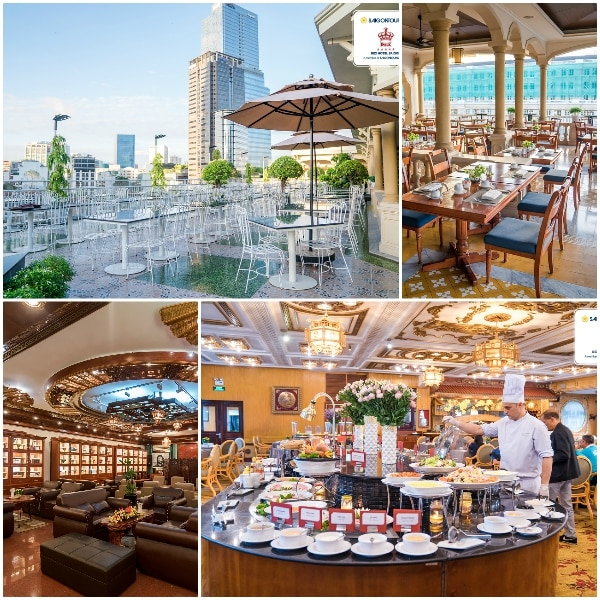 Review nhà hàng ăn uống ở khách sạn Rex Hotel Sài Gòn