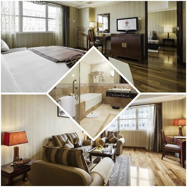 Review phòng ốc của khách sạn Rex Hotel Saigon. Phòng Executive Governor Suite