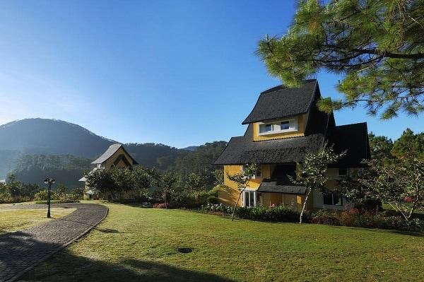 Quy mô, cảnh quan của Bình An village Đà Lạt resort