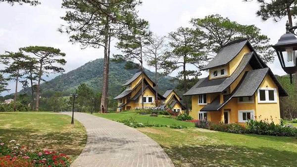 Các loại phòng của Bình An village resort