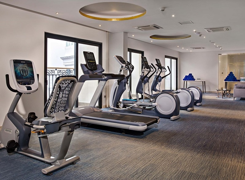 Có nên ở khách sạn Golden Bay Đà Nẵng hay không? Phòng tập Gym tại khách sạn Đà Nẵng Golden Bay