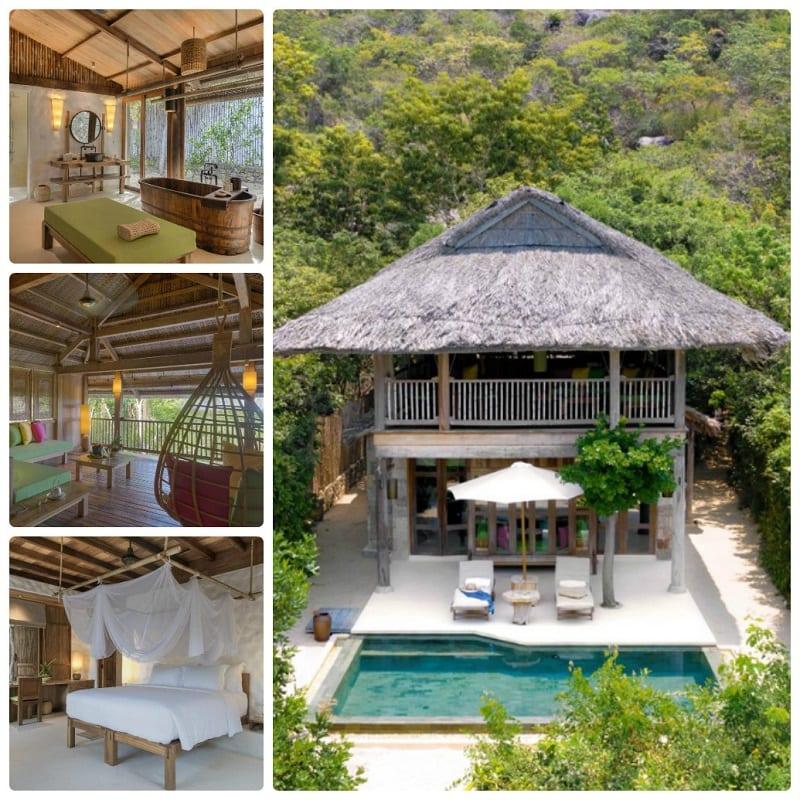 Đánh giá Six Sences Ninh Vân Bay Resort: Beachfront Pool Villa/Family Beach Pool Villa - Villa trên bãi biển
