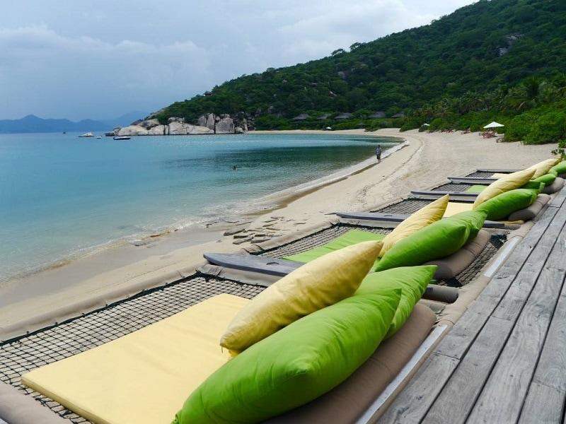 Đánh giá Six Sences Ninh Vân Bay Resort có tốt, đẹp như quảng cáo? Bãi biển riêng của Six Sences Ninh Vân Bay