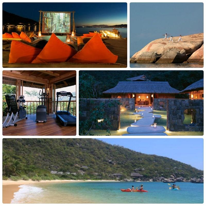Đánh giá Six Sences Ninh Vân Bay Resort có tốt, đẹp như quảng cáo? Tiện ích giải trí tại Six Sences Ninh Vân Bay
