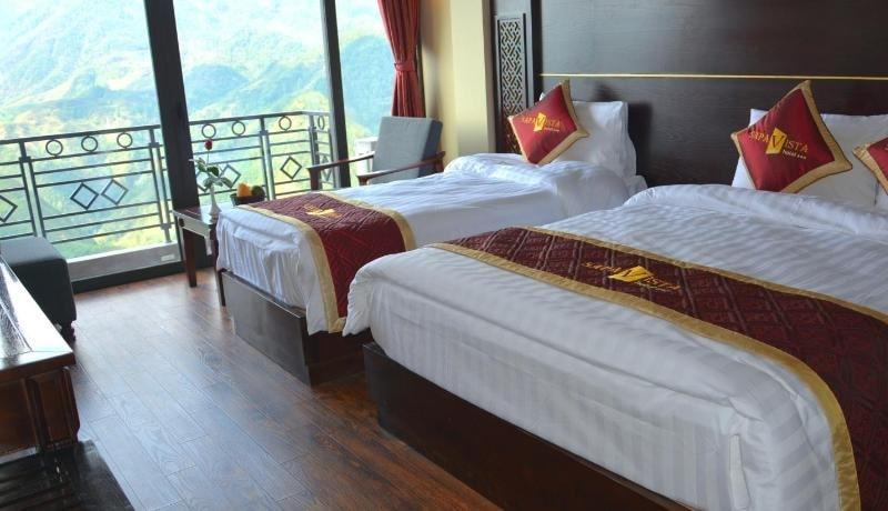 Khách sạn Vista Sapa có tốt không, review phòng 3 người