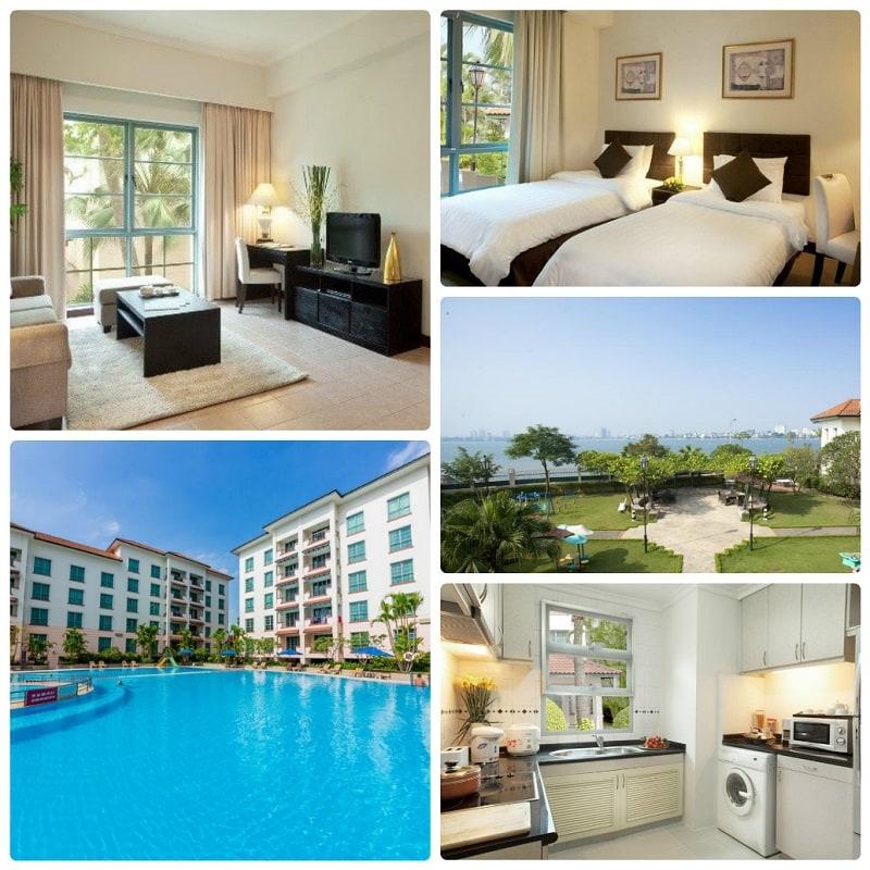 Khách sạn 5 sao gần Hồ Tây, khách sạn Diamond Westlake Suites