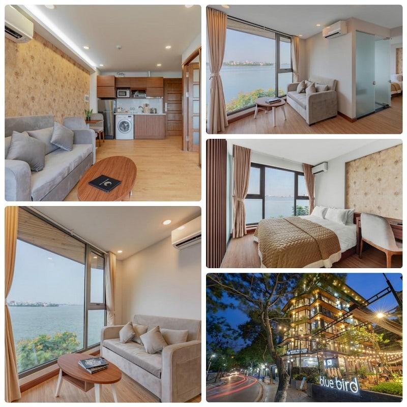 Khách sạn gần Hồ Tây có view Hồ Tây đẹp, MOON West Lake Serviced Apartment