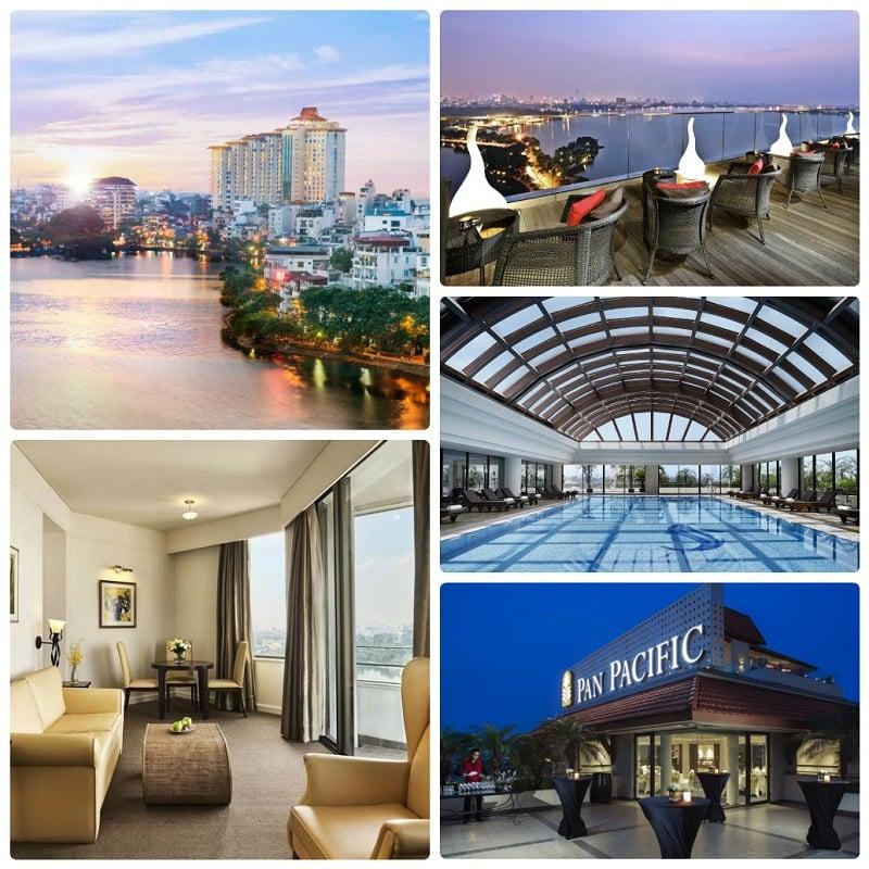 Khách sạn đẹp nằm gần hồ Tây, Pan Pacific Hanoi