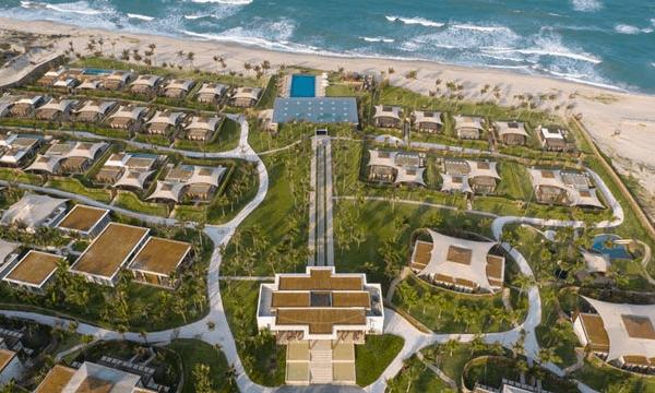 Review Fusion Resort Cam Ranh, toàn cảnh của Fusion Resort Nha Trang