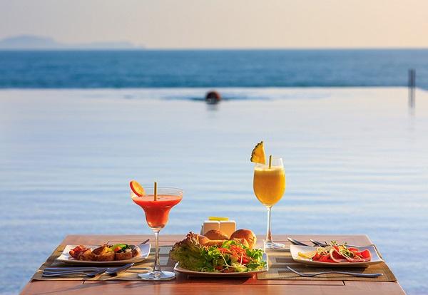Review Fusion Resort Cam Ranh, bữa sáng phục vụ mọi lúc, mọi nơi