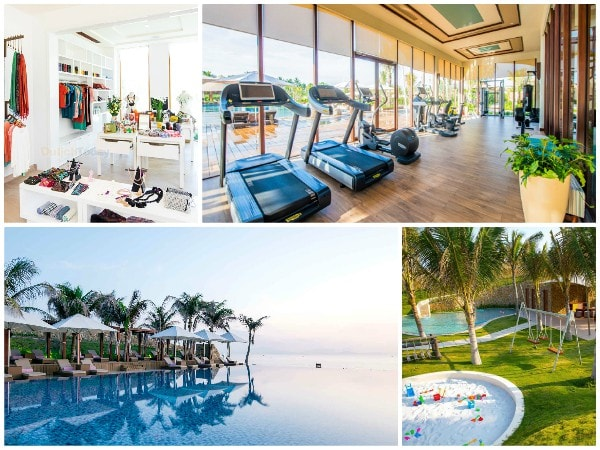 Review Fusion Resort Nha Trang, Một số tiện nghi của Fusion Resort Cam Ranh