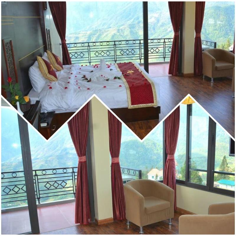 Review, đánh giá khách sạn vista Sapa. Phòng Superior Suite