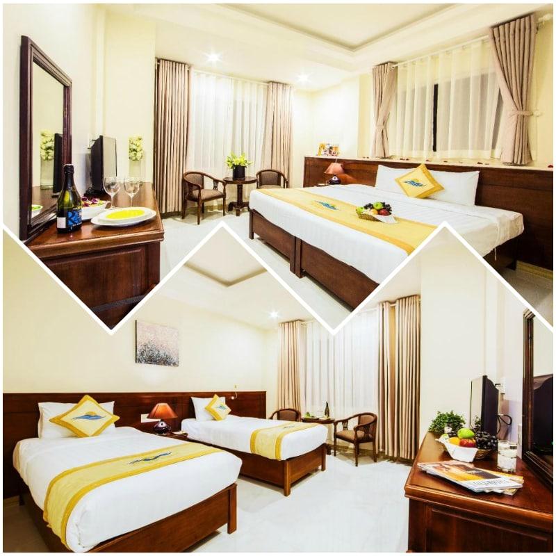 Review khách sạn Phú Quốc Ocean Pearl về tiện nghi phòng ốc. Phòng Superior