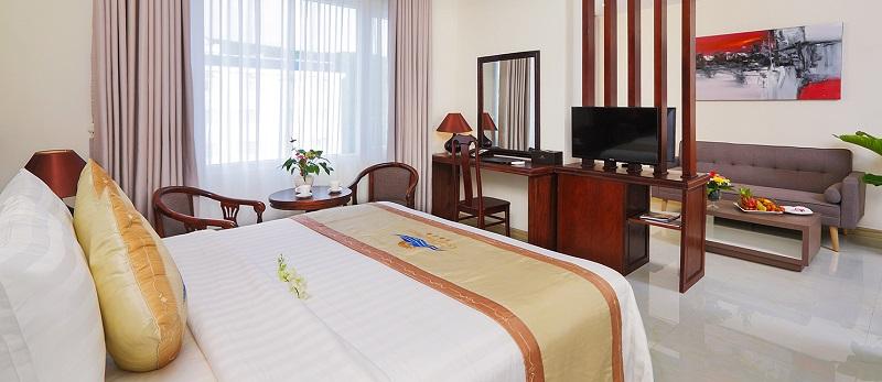 Review khách sạn Phú Quốc Ocean Pearl về tiện nghi, phòng ốc. Phòng Suite