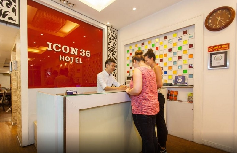 Đánh giá khách sạn Icon 36 Hotel Hà Nội. Khách sạn đẹp ở Hà Nội