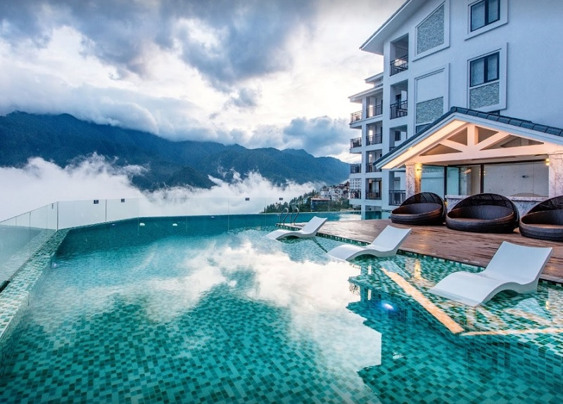 Review khách sạn Bamboo Sapa Hotel, Khách sạn đẹp ở Sapa