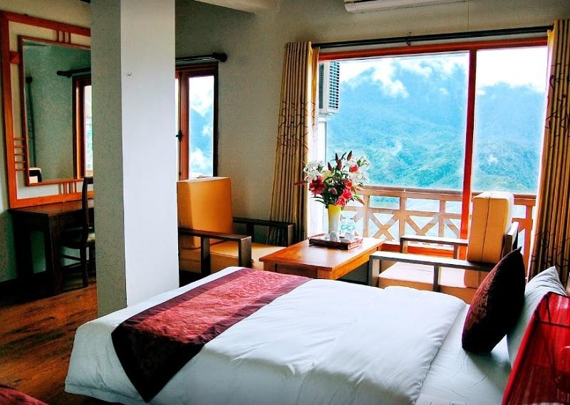 Review khách sạn Bamboo Sapa Hotel. Khách sạn đẹp ở Sapa gần chợ tình