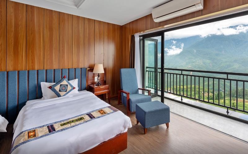 Review khách sạn Bamboo Sapa Hotel. Khách sạn đẹp ở Sapa