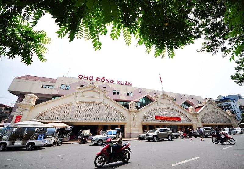 Review du lịch chợ Đồng Xuân quán ăn ngon, mua sắm rẻ. Kinh nghiệm du lịch chợ Đồng Xuân đường đi, ăn uống, mua sắm trải nghiệm đẹp.