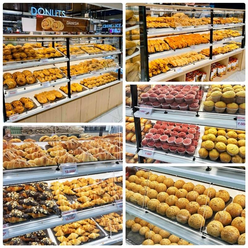 Ăn gì ở Aeon Mall Hà Đông? Bánh ngọt ở Aeon Mall Hà Đông