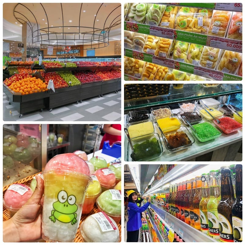 Kinh nghiệm đi Aeon Mall Hà Đông? Ăn gì ở Aeon Hà Đông? Trái cây, hoa quả ở Aeon Hà Đông