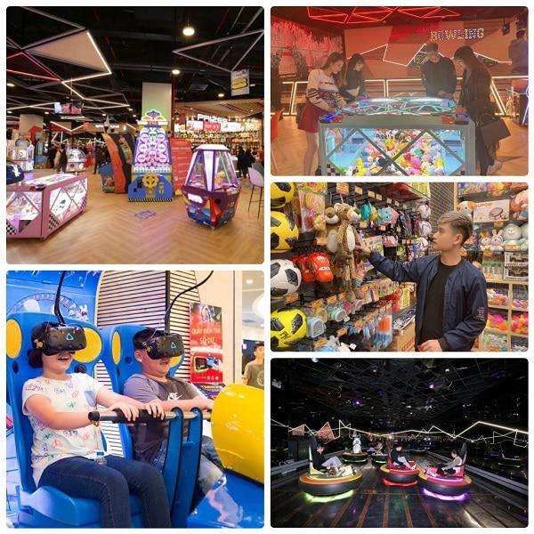 Kinh nghiệm đi Aeon Mall Hà Đông, khu vui chơi giải trí ở Aeon Mall Hà Đông