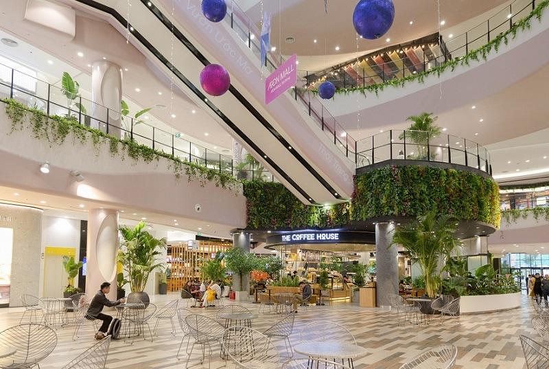 Kinh nghiệm tham quan Aeon Mall Hà Đông, không gian xanh của Aeon Hà Đông
