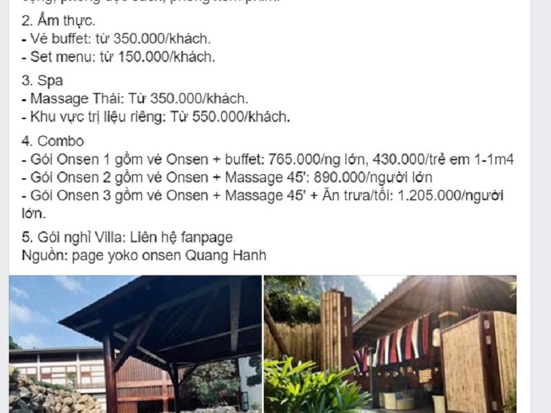 Review khu nghỉ dưỡng suối khoáng Onsen Quang Hanh, Quảng Ninh
