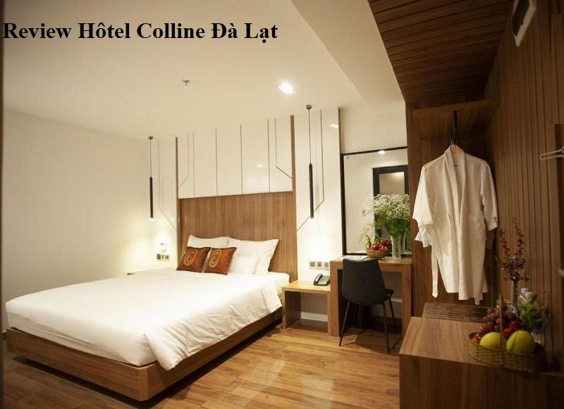 Review phòng ốc tại khách sạn Colline Hôtel Đà Lạt. Phòng Superior