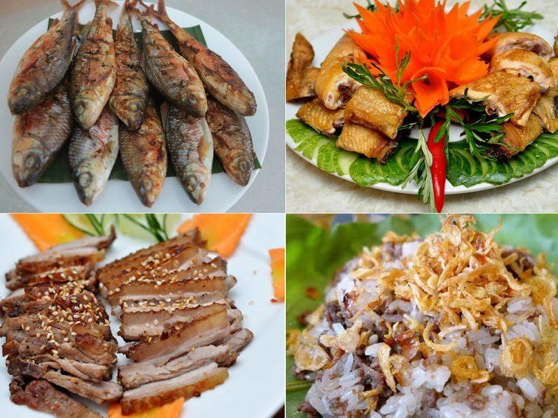 Món ngon, đặc sản ở KDL nước khoáng nóng Sơn Kim